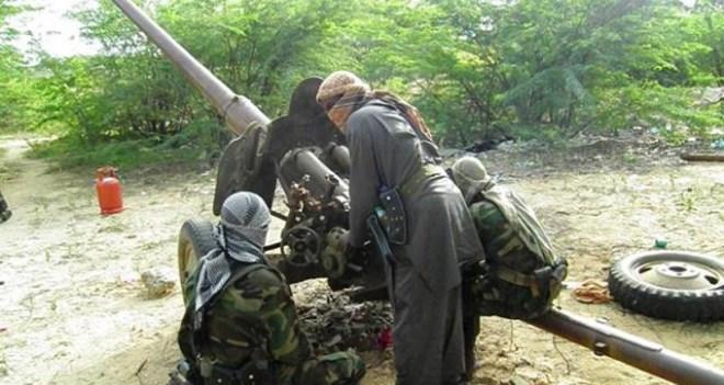 Shabaab iyo Amisom oo xalay madaafiic isku weydaarsaday magaalada Balcad.