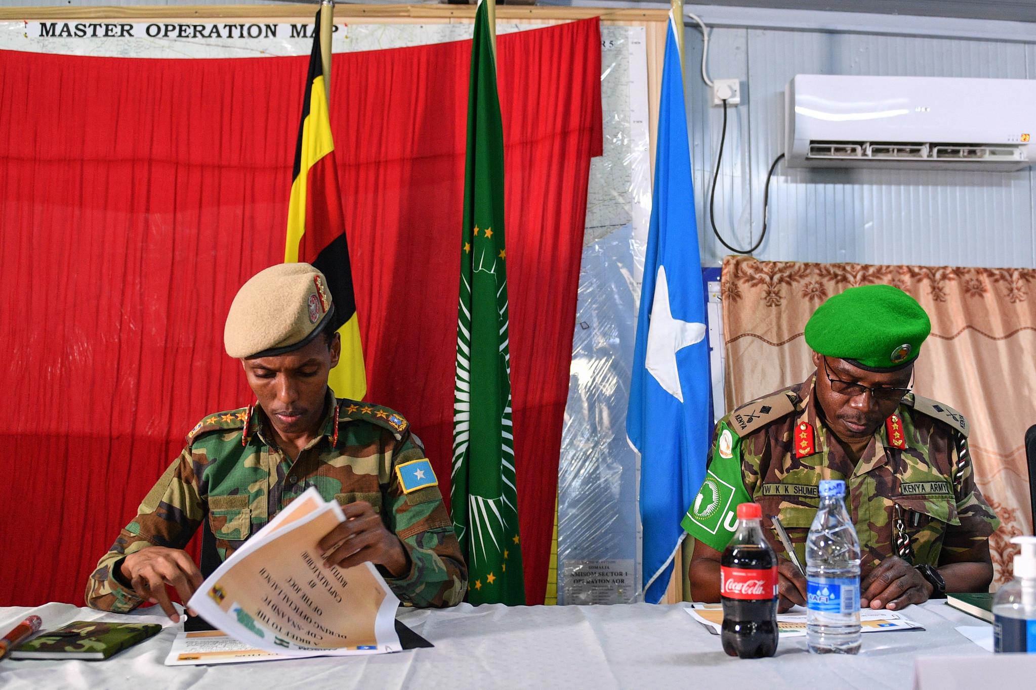 AMISOM iyo milatariga Soomaaliya dajiyay qorshe midaysan oo ay ku wajahayaan Al Shabaab.