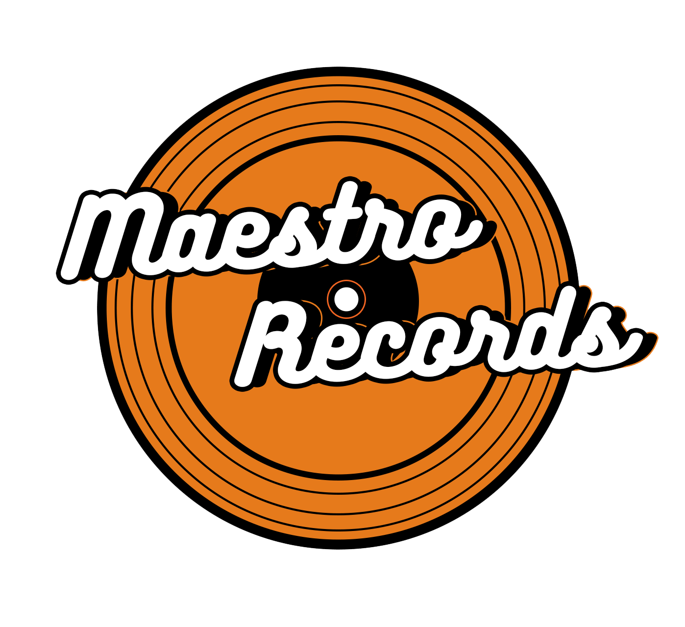Maesto Records Logo New Colour Transparent