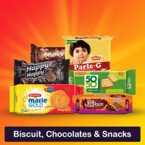 Biscuit, Chocolates & Snacks