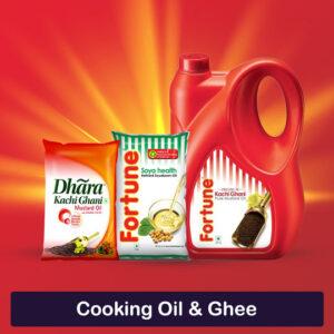 Cooking Oil & Ghee
