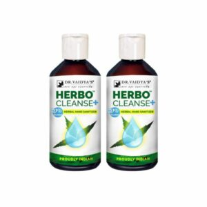 Dr. Vaidya's Herbal Hand Sanitizer 200ml X 2