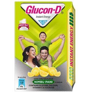 Glucon-D Instant Energy Health Drink Nimbu Pani - 450gm Refill