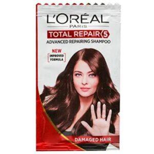 L'oreal Paris Total Repair 5 Shampoo, 7ml Sachet