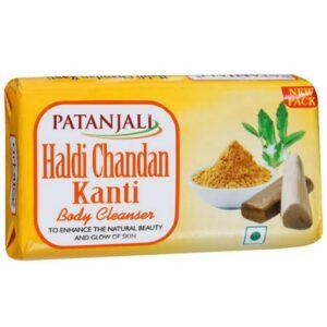 Patanjali Haldi Chandan Kanti Body Cleanser Soap 57g