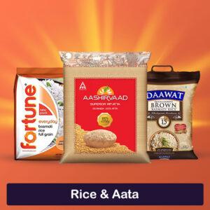 Rice & Aata
