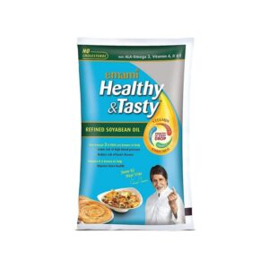 Emami Healthy and Tasty Refined Soyabean Oil, 1L