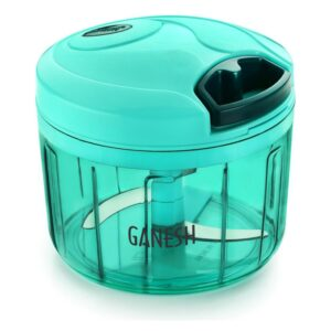 Ganesh Chopper Vegetable Cutter, Pool Green