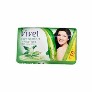 Vivel Neem Oil & Turmeric Soap 57g