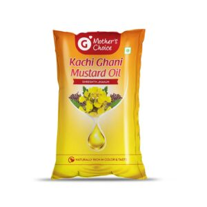 Mother's Choice Kachi Ghani Mustard Oil (Pouch)