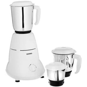 Solimo 500W Mixer Grinder With 3 Jars