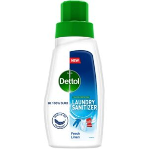 Dettol After Detergent Wash Liquid Laundry Sanitizer, Fresh Linen - 180ml