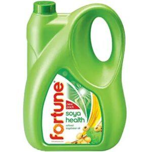 Fortune Soya Bean Oil, Refined 5L Jar