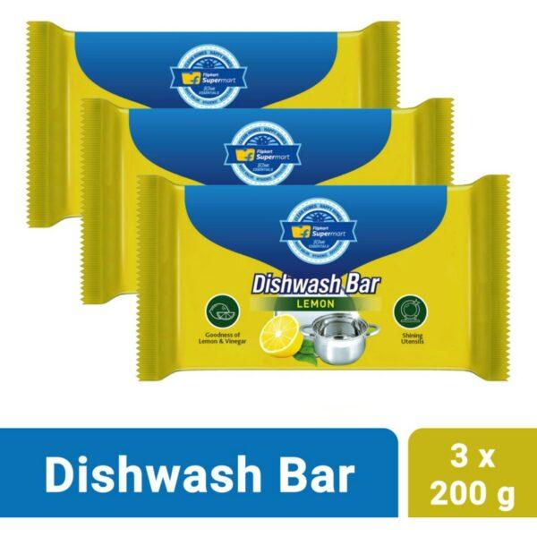Flipkart Supermart Home Essentials Lemon Dishwash Bar