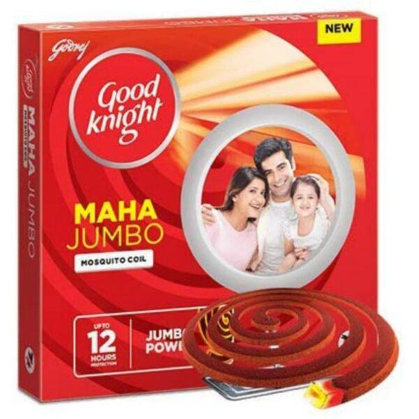 Good Knight Maha Jumbo Smoke Coil - 10 Pieces Pack