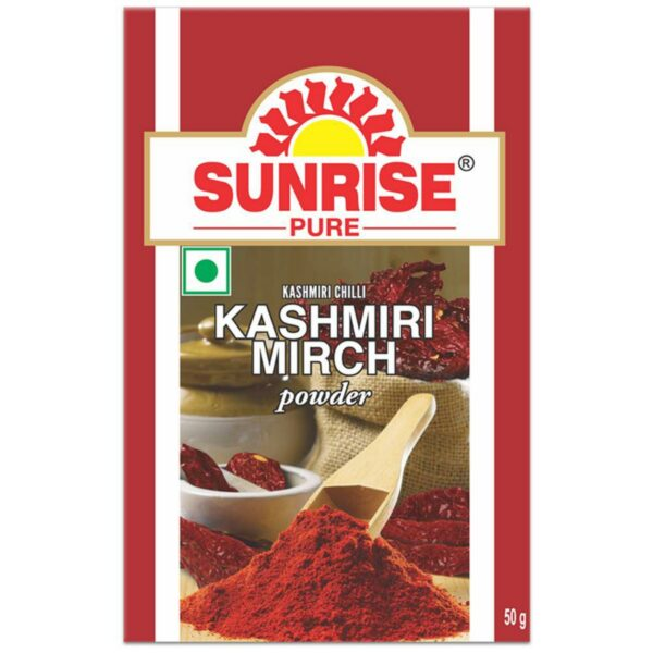 Sunrise Pure Kashmiri Red Chilli Mirch Powder