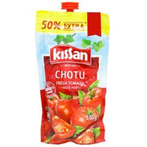 Kissan Chotu Fresh Tomato Ketchup Refill (Free 50% Extra) 130 g