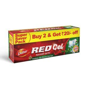Dabur Red Gel : Ayurvedic Gel Toothpaste 300g