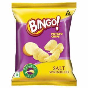 Bingo! Original Style Salt Sprinkled Potato Chips 100g