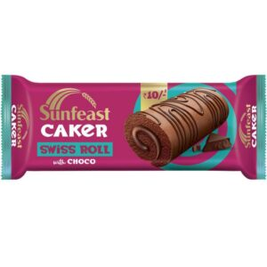 Sunfeast Caker Swiss Roll with Choco, 29g