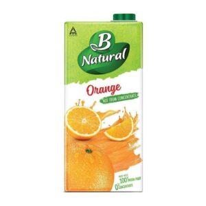B Natural Orange Juice 1L