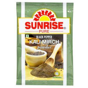 Sunrise Pure, Black Pepper Powder - 10 grams (Pouch)