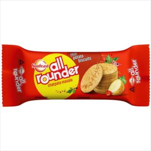 Sunfeast All rounder biscuits: Thin Potato Masala salted biscuits, 75g