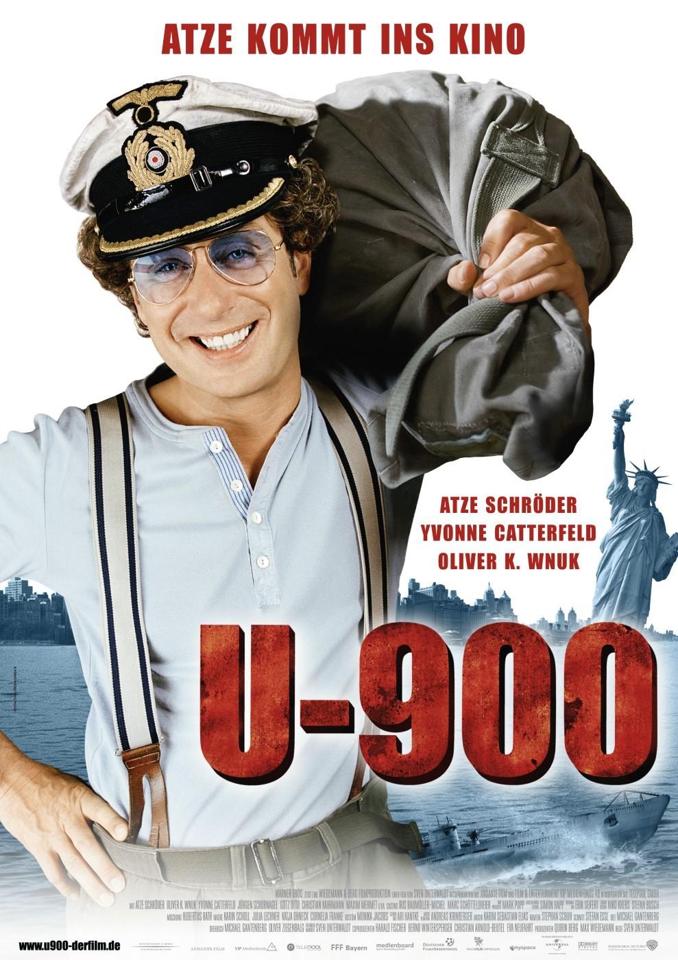 U 900 film movie malta production