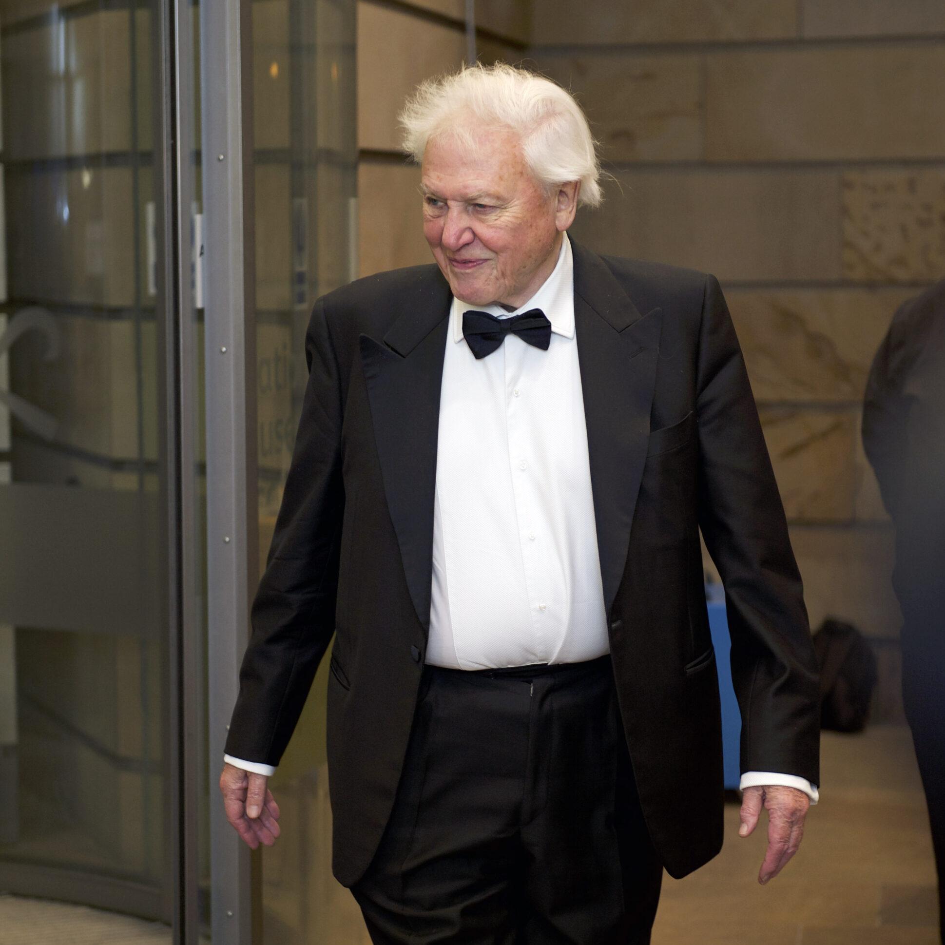 Sir David Attenborough dinner