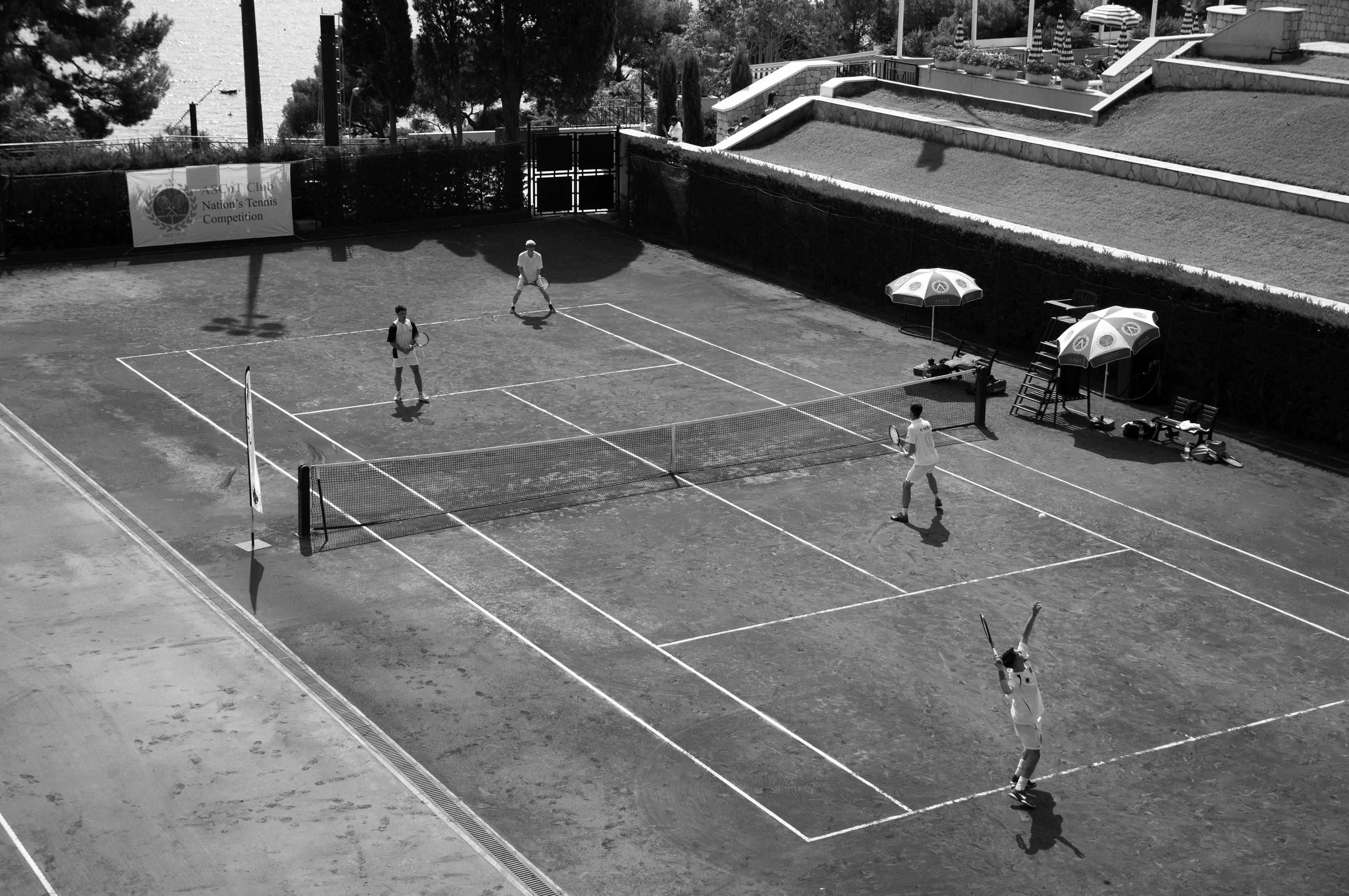 Ascotian Club, tennis court