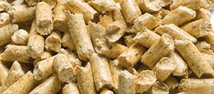 Biomass wood pellets for biomass boilers