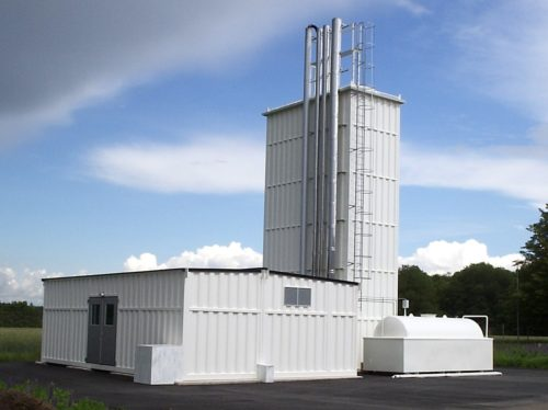 commercial biomass district heating