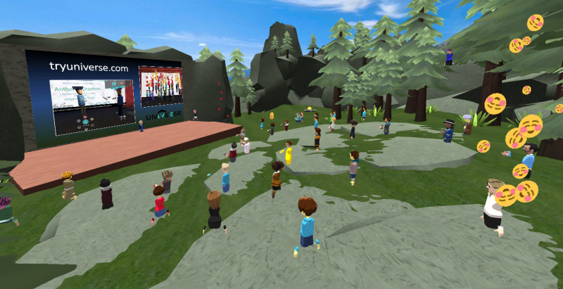 Educators in VR VR Researchers Event World in AltspaceVR.
