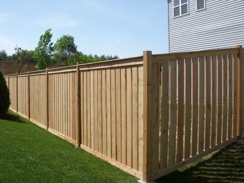 Wood fence installation waxhaw nc