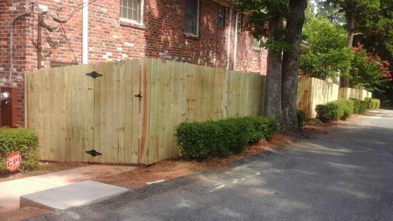 Wood fence company in Rock Hill