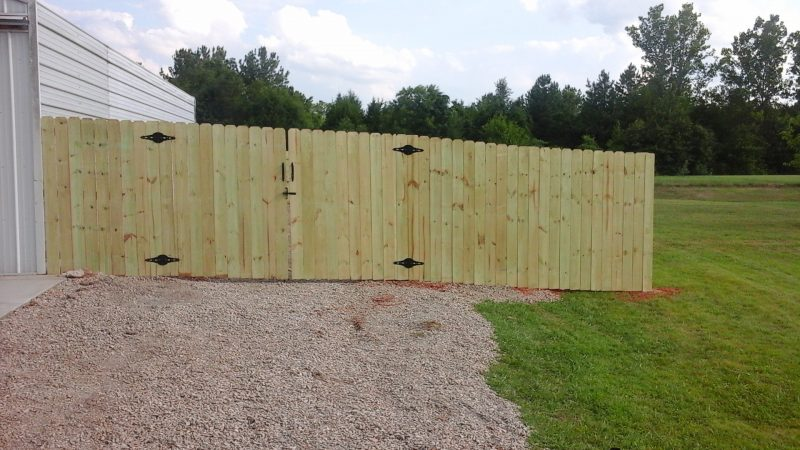 wood fence installation fort mill sc