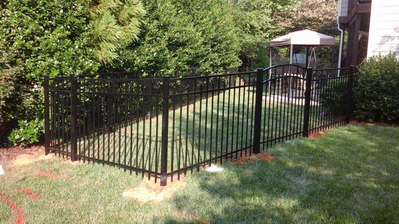 aluminum fence installation fort mill sc