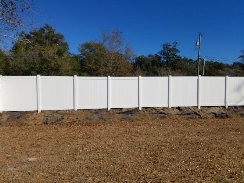 vinyl fence rock hill sc