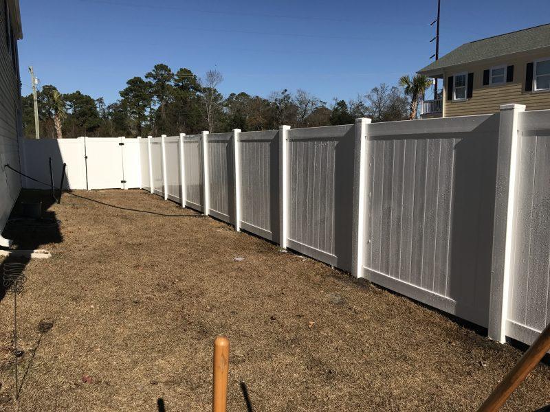 affordable vinyl fence company lancaster sc