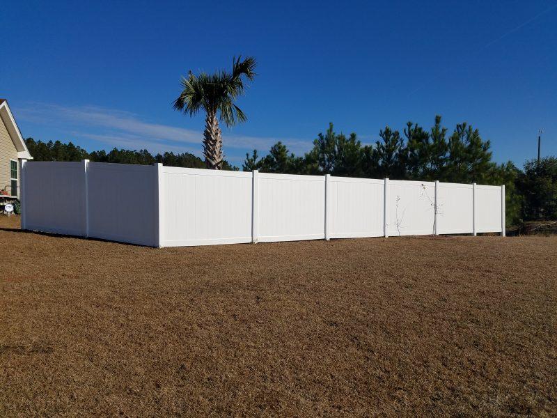 vinyl fence company charlotte nc