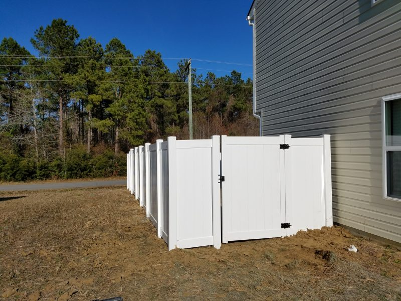 affordable vinyl fence installation fort mill sc