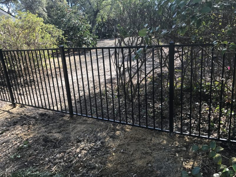 Aluminum fence company in Fort Mil