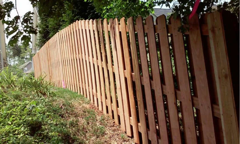 Affordable Wood fence in Fort Mill