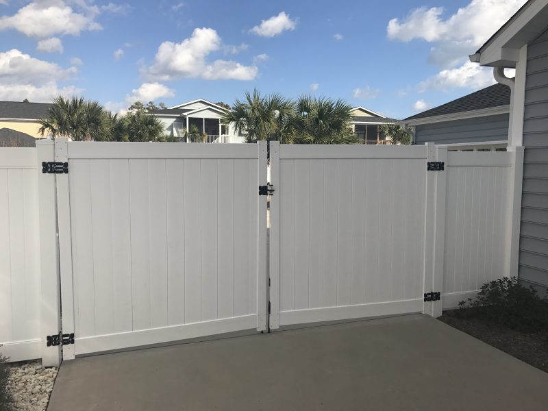 Vinyl residential fence company in Rock Hill
