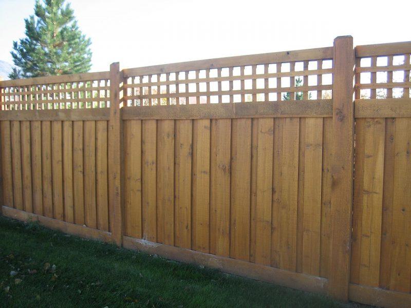 Wood fence company in Waxhaw