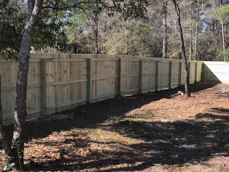 wood fence installation company charlotte nc