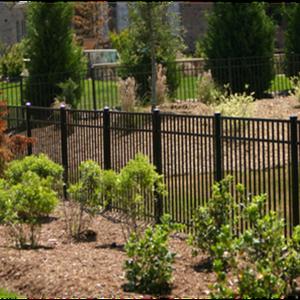 aluminum black fence charlotte nc