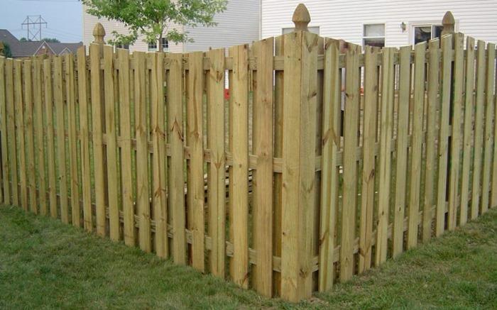 wood fence charlotte nc