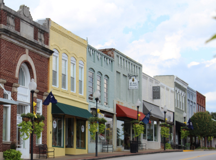 Fort Mill historic downtown district