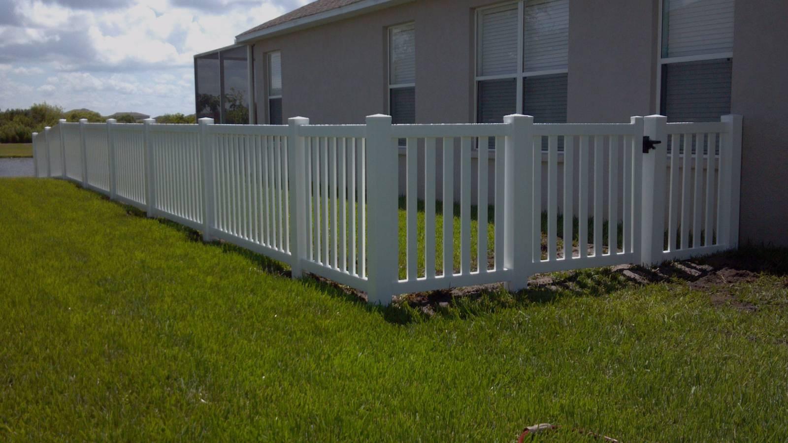 vinyl fence installation charlotte nc